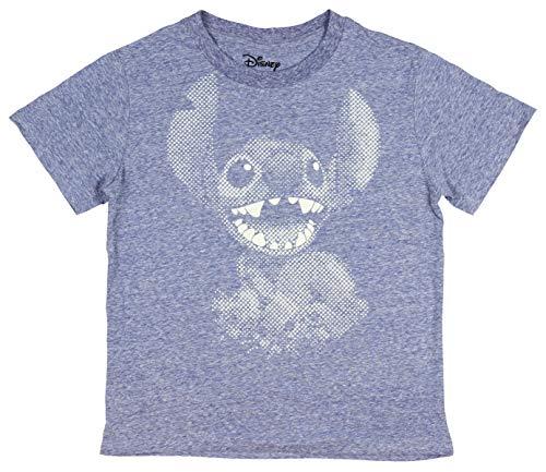 Disney Lilo y Stitch Estilo de Punto Pixel Diseño Cosido Boys' T-Camisa (X-Small, 4).