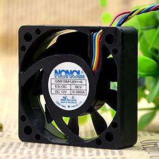 FidgetFidget 1PC NONOISE G5015M12D1+6 12V 0.200A car Audio Cooling Fan 5015 5CM