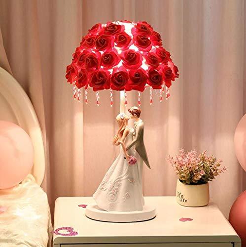 Tabla Rose flor lámpara lámpara escritorio Árbol