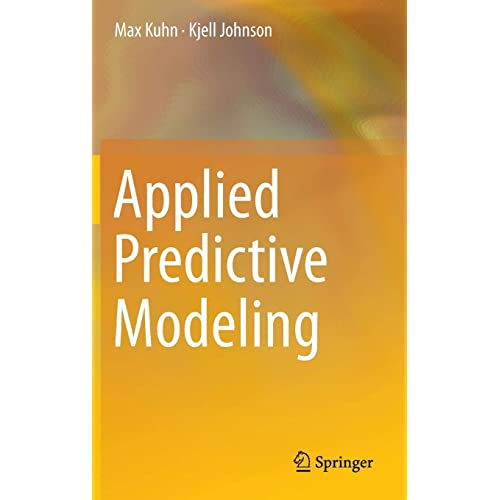 Applied Predictive Modeling 8601421896931 Medicine