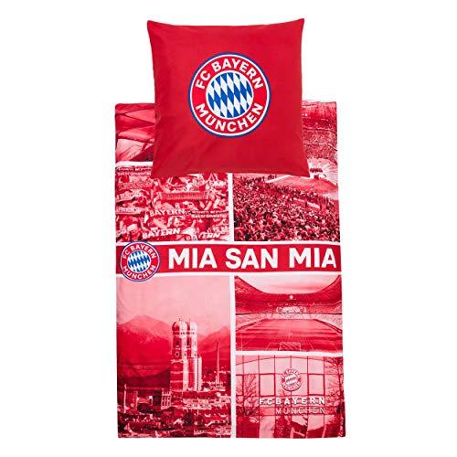 FC Bayern München Bettwäsche MIA SAN MIA 25988
