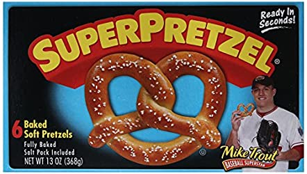 SuperPretzel, Soft Pretzels, 13 oz (Frozen)