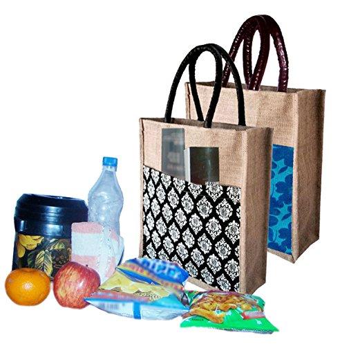 Foonty Tote Bag (Set of 2) (fab-10_Multicolored)