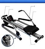 VIO Rudergerät Heim Rudergerät Fitness-Studio Indoor-Multifunktions-Rudergeräte Fitnessgeräte,grau,Einheitsgröße - 3