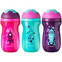 3 Count Tommee Tippee Non-Spill Insulated Sippee Toddler Tumbler Cup