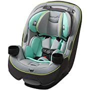 Built to grow: the 3 in 1 car seat built to grow for extended use through 3 stages: Rear facing 5 to 40 pounds, forward facing 22 to 65 pounds, and belt positioning booster 40 to 100 pounds Side impact protection: The grow and go's side impact protec...