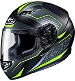 HJC Helmets CS-15 Cascos, Hombre, Trion Black/Green, M