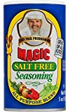 Chef Paul Prudhomme's Magic Seasoning Blends ~ Magic Salt Free Seasoning, 5-Ounce Canister...