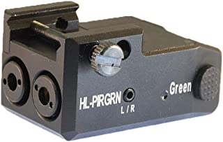 HiLight PIRGRN Infrared (IR) Laser Sight and Green Laser Sight Combo