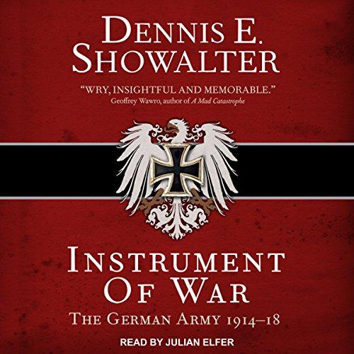 Instrument of War audiobook cover art
