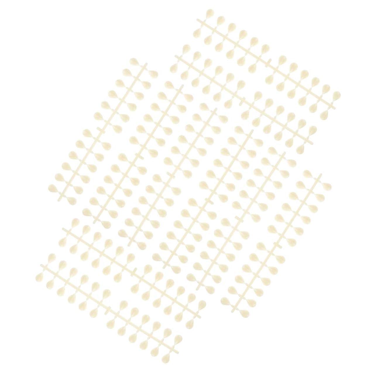 革命取り付け気分が悪いDYNWAVE ネイルのヒントスティック再利用可能なマニキュアサロンネイルアートディスプレイカラーカード - 水滴