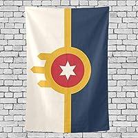 """Flag 60""""X50"""" DIYタペストリー壁掛けホームリビングルームの寝室"""