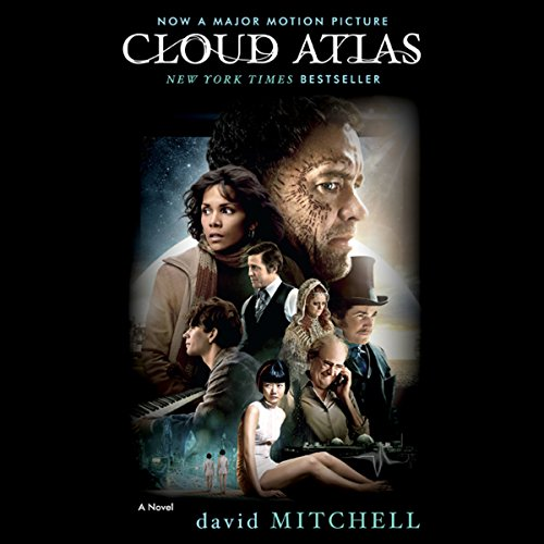 Cloud Atlas audiobook cover art