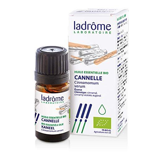Ladrôme Huile Essentielle Cannelle (Cinnamomum zeylanicum) Bio 5 ml