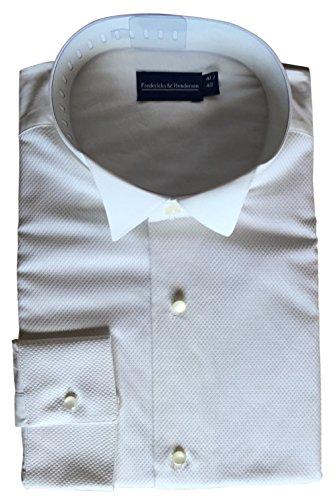 Gentleline Frackweiß, 3-teilig, piqué, 100% Baumwolle Größe S = 37/38