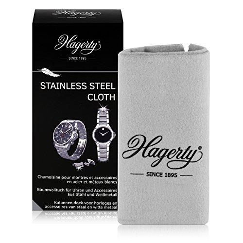 Hagerty Stainless Steel Cloth Spezielles Tuch für Edelstahl