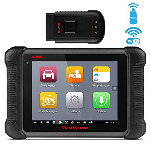 Autel MaxiSys MS906BT Automotive Scan Tool Diagnostic Scanner with ECU Coding, Bi-Directional Control, Brake Bleed, Oil Reset, ABS, SRS, DPF, EPB, Advanced Ver. of MS906 DS808 MK808