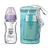 USB Heizung Tragbare Babyflaschenwärmer Tasche, Flaschenwärmer Tasche Baby für Outdoor Travel Reisen