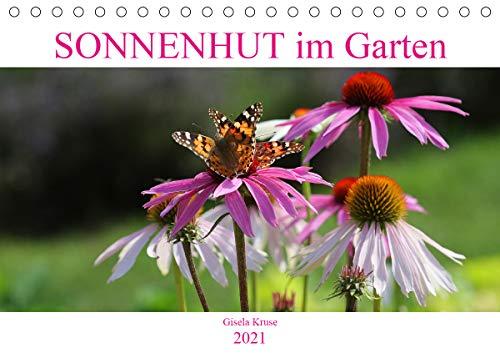 Sonnenhut im Garten (Tischkalender 2021 DIN A5 quer)