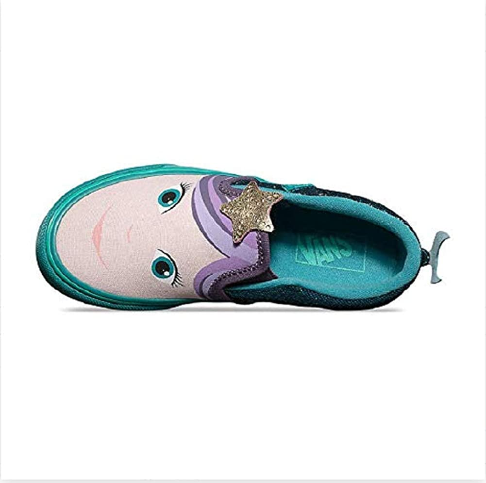 Amazon.com: Vans Asher V Zapatillas de sirena, Verde, 6.5 M US ...