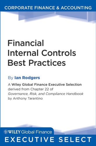 Financial Internal Controls Best Practices (Wiley Global Finance Executive Select Book 177) (English Edition)