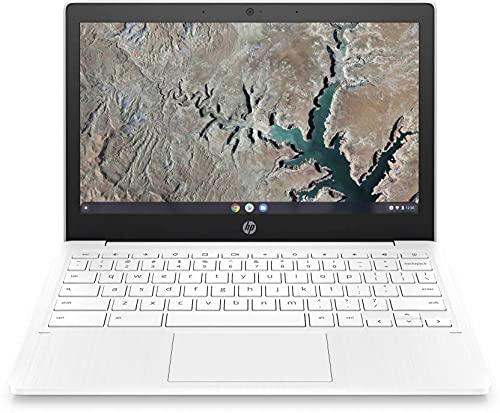 HP Chromebook MT8183 – (4 GB/64 GB EMMC Storage/Chrome OS) 11a-na0006MU Chromebook (11.6 inch, Snow White, 1.07 Kg)