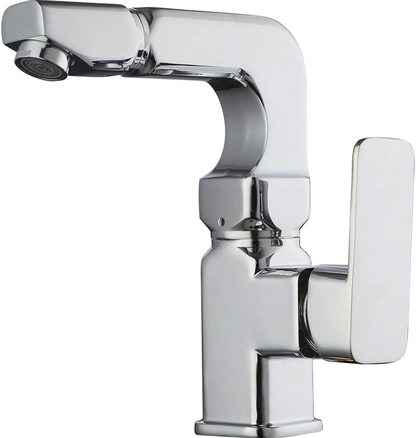 ETERNAL QUALITY Bathroom Sink Basin Tap Brass Mixer Tap Washroom Mixer Faucet The Kitchen cold water faucet 360-degree swivel kitchen faucet kitchen faucet two water-bras