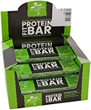 Avicenna Protein FIT BAR 100 Natural High Protein High Energy Soy-Free Gluten-Free Dairy-Free Chocolate and Sea Salt 12A 52g Box Estimated Price : £ 18,99