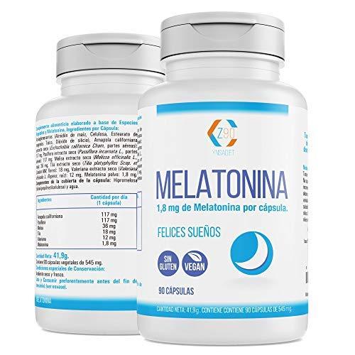 Melatonina – Valeriana – Tila – Pasiflora - Para conciliar el sueño...