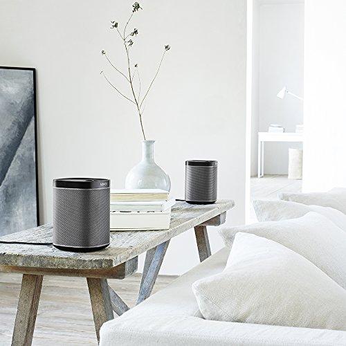 Sonos PLAY:1 I Kompakter Multiroom Smart Speaker für Wireless Music Streaming (schwarz) - 7