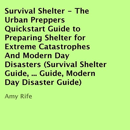 Survival Shelter audiobook cover art