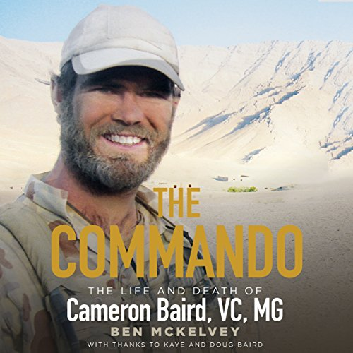 The Commando audiobook cover art