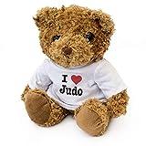 I LOVE JUDO - Teddy Bear - Cute Soft Cuddly - Gift Present