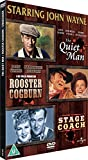 Best Arabic Tv Boxes - The Quiet Man/Stagecoach/Rooster Cogburn [DVD] Region 2 encoding Review