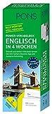 PONS Power-Vokabelbox Englisch in 4 Wochen - Schnell und einfach Vokabeln lernen mit 800 Karten inklusive App und Aussprachetraining