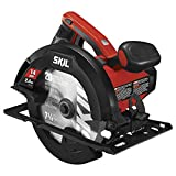 14-Amp motor for more power and performance than the SKIL 5480 15% weight reduction vs. SKIL 5480, reduces user fatigue 51Degree bevel with positive stop at 45Degree for greater cut capacity that SKIL 5480 Improved dust blower keeps line of cut free ...