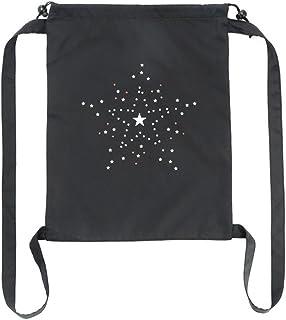 outflower Pochette con cierre de cuerda Strap Ampliación Design Mode décontractée exterior bolsa mochila de equipaje