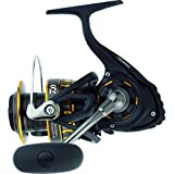 Daiwa BG5000 BG Saltwater Spinning Reel, 5000, 5.7: 1 Gear Ratio, 6+1 Bearings, 47.40' Retrieve Rate, 22 lb Max Drag,Black/Gold