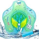 MMTX Anillo Inflable para Nadar con Asiento, Flotador Ajustable para Seguridad de Seguridad Floation 6-30 Meses Bebe(L)
