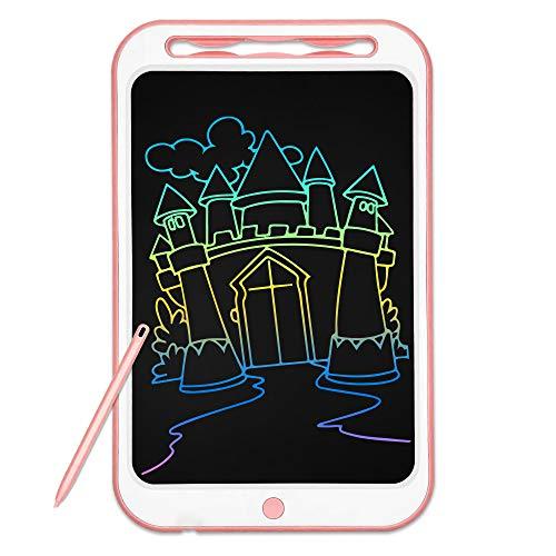 Richgv Tavoletta Grafica LCD Scrittura Digitale 12 pollici. Elettronico Colorato Portatile Ewriter Cancellabile Disegno, LCD Writing Tablet con Stilo per Bambini Adulti della Casa Scuola Ufficio. Blu