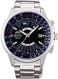 オリエント時計 腕時計 オリエント 自動巻 万年カレンダー 海外モデル SEU07008DX メンズ シルバー