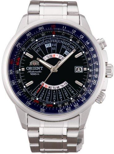 ORIENT Auto-bobinado calendario perpetuo azul marino modelo de ultramar fabricantes nacionales garantizados hombres reloj SEU07008DX