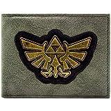 Cartera de Legend of Zelda Oro Triforce Negro