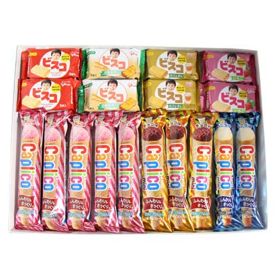おかしのマーチ グリコお菓子ギフトセットC プチギフト(2種・計18コ)プレゼント