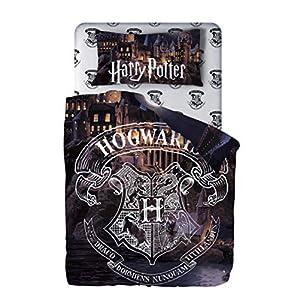Harry Potter Juego de Sábana, Funda de Almohada y Sábana Bajera Algodón 32