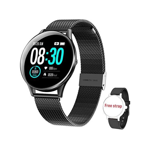 HopoFit Reloj Inteligente para Mujer y Hombre, Smartwatch de Android iOS Phone con monitoreo de frecuencia cardíaca… 2