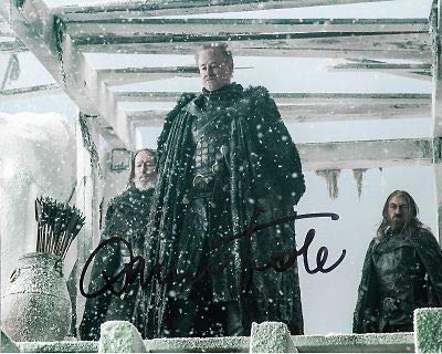 Autógrafo firmado a mano de Owen Teale Game of Thrones, foto de AFTAL