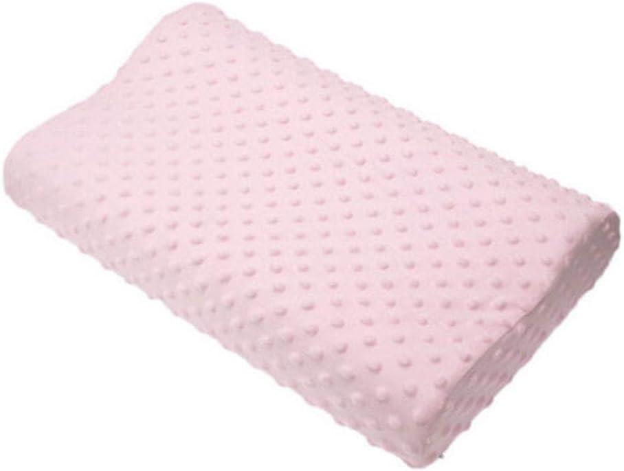 TOPmountain Almohadas de Cama para Dormir Almohada Cervical Ajustable de Apoyo para Cuello Almohada de látex 100% Natural Aliviar el Dolor de Espalda Alineación de Columna
