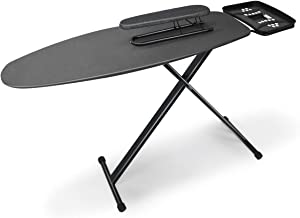 Duwee 18x49in Ironing Board(45.72 x 124.46cm) with Iron Rest | Extra Wide Ironing Board Thicken Steel Top Board , with Hea...