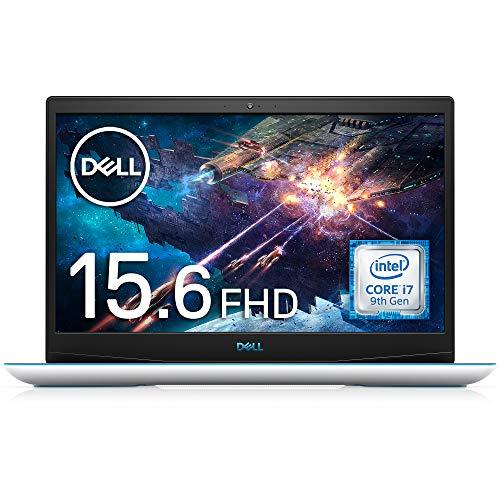 Dell ゲーミングノートパソコン G3 15 3590 Core i7 ホワイト 20Q23W/Win10/15.6 FHD/16GB/256GB SSD+1TB HDD/GTX1650